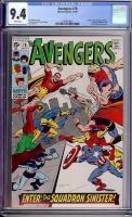 Avengers #70 CGC 9.4 w