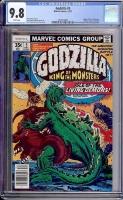 Godzilla #5 CGC 9.8 w