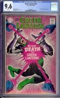 Green Lantern #64 CGC 9.6 w