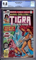 Marvel Chillers #6 CGC 9.8 w