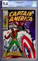 Captain America #117 CGC 9.4 ow/w