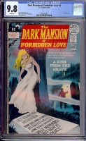 Dark Mansion of Forbidden Love #4 CGC 9.8 w