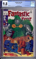 Fantastic Four #86 CGC 9.8 ow/w