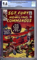 Sgt. Fury and His Howling Commandos #19 CGC 9.6 ow/w