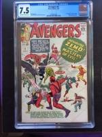 Avengers #6 CGC 7.5 ow/w