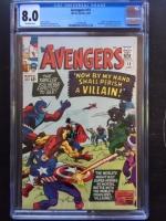 Avengers #15 CGC 8.0 ow