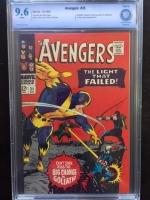 Avengers #35 CBCS 9.6 w