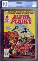Alpha Flight #1 CGC 9.8 w