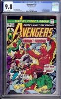 Avengers #134 CGC 9.8 w