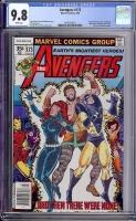 Avengers #173 CGC 9.8 w