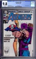 Avengers #223 CGC 9.8 w