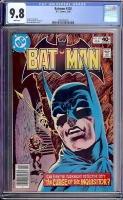 Batman #320 CGC 9.8 w