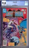 Batman #326 CGC 9.8 w