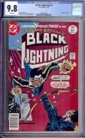 Black Lightning #2 CGC 9.8 w