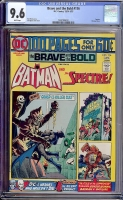 Brave and the Bold #116 CGC 9.6 w