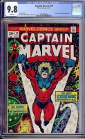 Captain Marvel #29 CGC 9.8 w