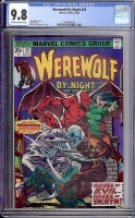 Werewolf By Night #34 CGC 9.8 ow/w