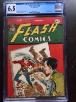 Flash Comics #80 CGC 6.5 ow/w
