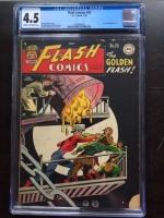Flash Comics #95 CGC 4.5 cr/ow