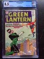 Green Lantern #14 CGC 8.5 cr/ow