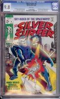 Silver Surfer #5 CGC 9.8 w