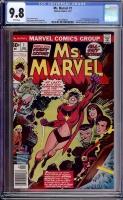 Ms. Marvel #1 CGC 9.8 w
