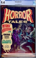 Horror Tales Vol 2 #2 CGC 9.4 ow/w