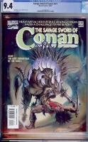 Savage Sword of Conan #214 CGC 9.4 w