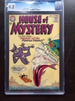 House of Mystery #145 CGC 9.2 cr/ow