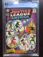 Justice League of America #16 CBCS 8.0 ow/w