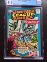 Justice League of America #26 CGC 8.0 ow/w