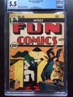 More Fun Comics #59 CGC 5.5 cr/ow