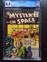 Mystery in Space #29 CGC 6.5 ow