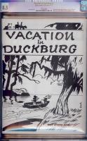 Vacation in Duckburg #2 CGC 8.5 w