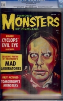 Famous Monsters of Filmland #7 CGC 7.0 cr/ow