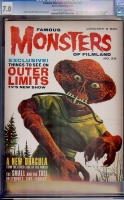 Famous Monsters of Filmland #26 CGC 7.0 cr/ow