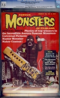 Famous Monsters of Filmland #32 CGC 7.5 ow/w