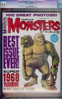Famous Monsters of Filmland Yearbook #1968 CGC 9.8 w