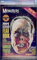 Famous Monsters of Filmland Yearbook #1969 CGC 9.8 ow/w