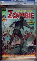 Tales of the Zombie #8 CGC 9.4 w Massachusetts
