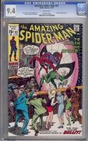 Amazing Spider-Man #91 CGC 9.4 w