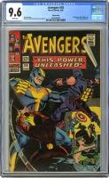 Avengers #29 CGC 9.6 w Suscha News