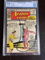 Action Comics #290 CBCS 7.5 ow/w