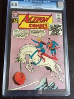 Action Comics #293 CGC 8.5 ow/w