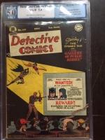 Detective Comics #141 CGC 5.0 ow/w