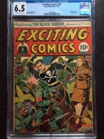 Exciting Comics #30 CGC 6.5 ow/w