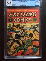 Exciting Comics #34 CGC 5.5 ow/w