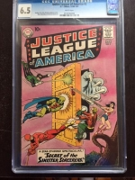 Justice League of America #2 CGC 6.5 w
