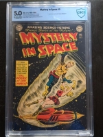 Mystery in Space #5 CBCS 5.0 ow/w