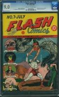Flash Comics #7 CGC 9.0 ow/w